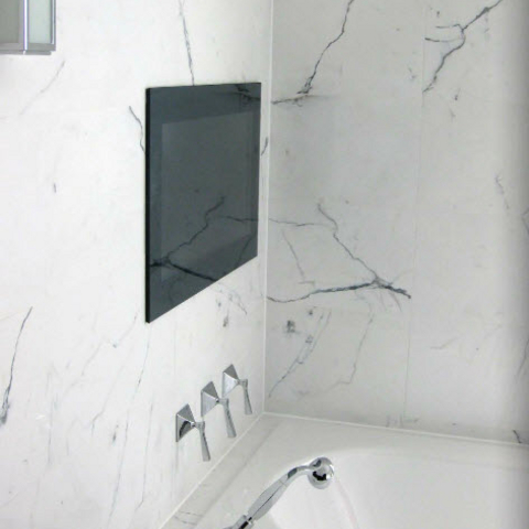 ... Marble Effect Ceramic Tiles For An Opulent Bathroom