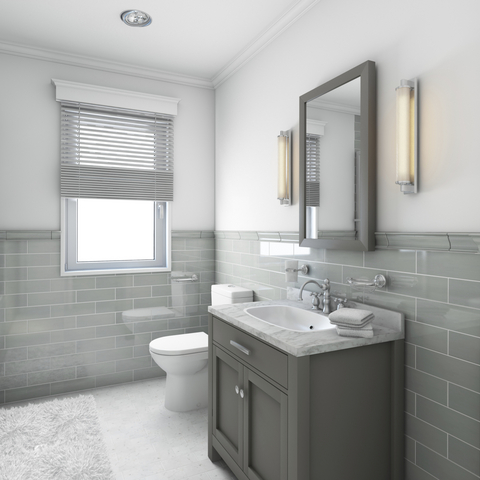 The versatility of grey tiles for bathrooms